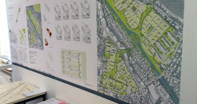 Schlusspräsentation Kasernen-Projekt der HSA