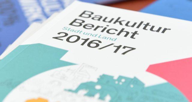 Der Baukulturbericht 2016/17