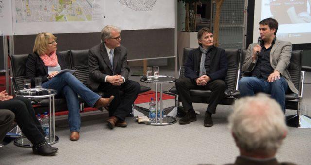 Kasernen-Projekt der HSA – Ausstellungseröffnung und Stadtgespräch02