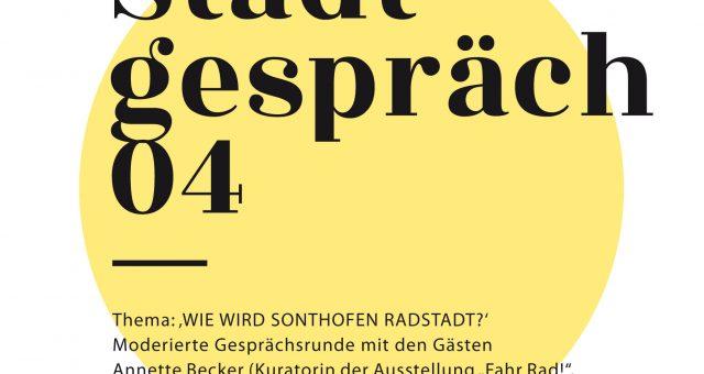 """Stadtgespräch04 – """"Wie wird Sonthofen Radstadt?"""""""