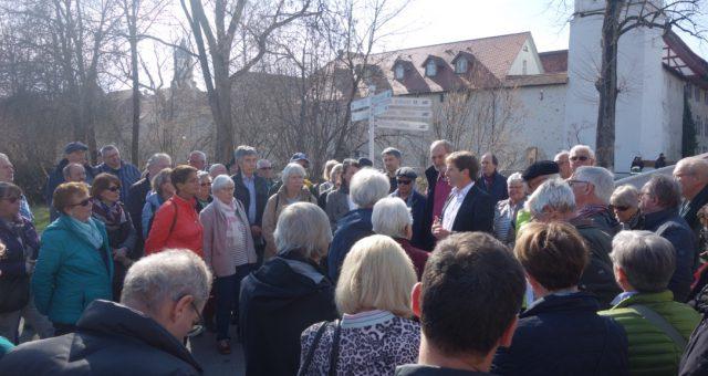 """""""Bürgerspaziergänge zur Landesgartenschau 2024"""" in Wangen"""